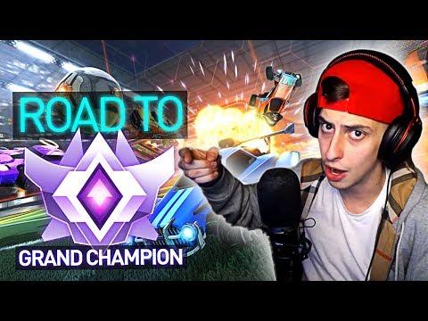 ROAD TO GRAND CHAMP! Is FaZe Cizzorz Good Enough? (Rocket League)
