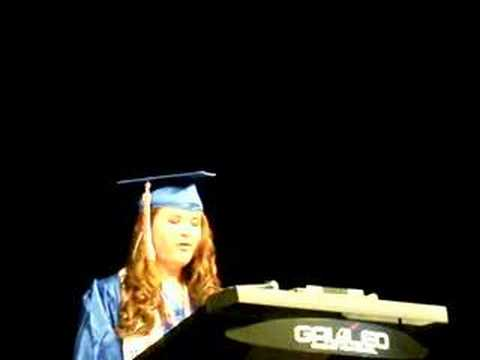 Galileo Graduation 2008 - Valediction