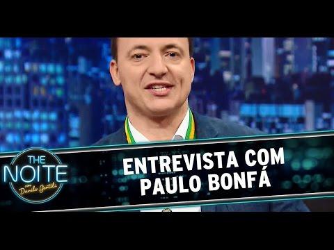 The Noite (21/10/14) - Entrevista com Paulo Bonfá