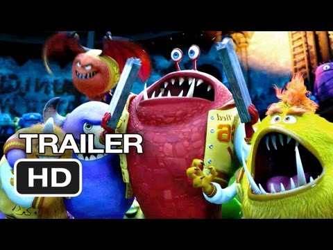 Monsters University TRAILER - It All Began Here (2013) - Pixar Prequel HD