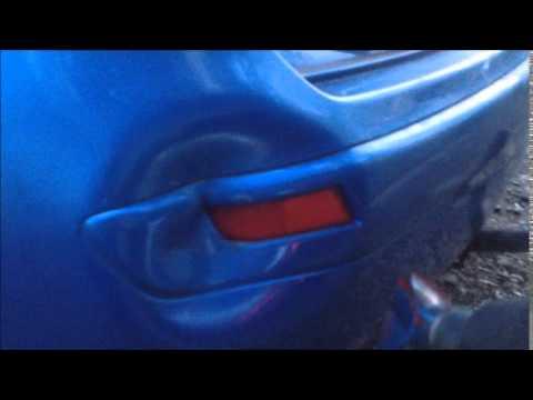 Ремонт бампера. Восстановление пластикового бампера феном без покраски своими руками