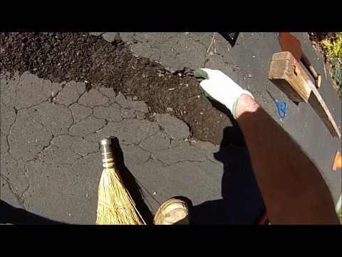 HOW TO: Blacktop Driveway Pothole Repair