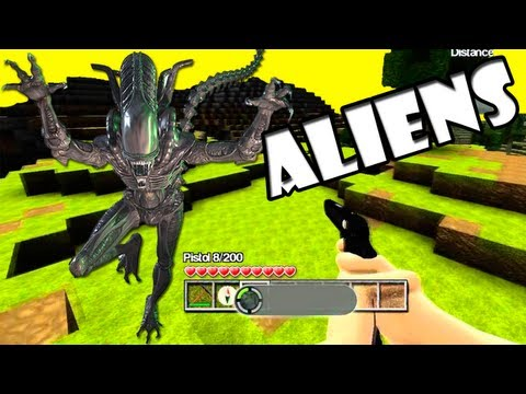 Base Alienigena :O -  Castle Miner Z #6