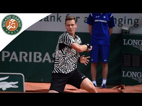 Berdych v Ferrer 2016 Roland-Garros Men's Highlights / R4