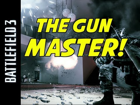 Mastering the Weapons of Battlefield 3 (BF3 Gun Master Gameplay)