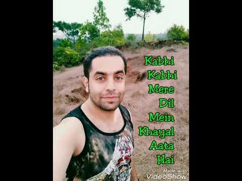 Kabhi Kabhi Mere Dil Mein Reprise | Rahul Shetty | Kabhi Kabhie ❤️