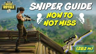 Fortnite Sniping Tips | How To Become A Master