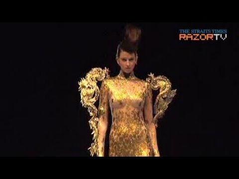 Richly textured and simply elegant (Guo Pei: Legend of the Dragon Pt 2)