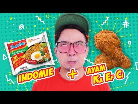 INDOMIE + KFC !! Enak Gak Ya!? #EGY