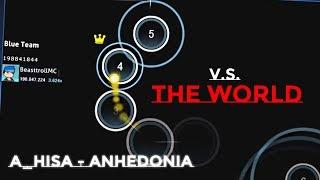 BeasttrollMC v.s THE WORLD   1v15 osu! Multiplayer