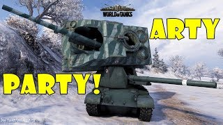World of Tanks - Funny Moments | ARTY PARTY! #36