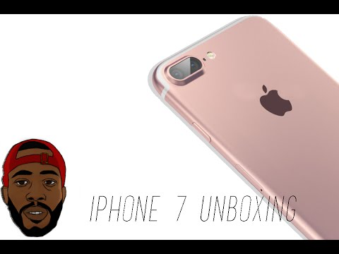 iPhone 7 Unboxing - Rose Gold Edition! (256 Gigs)