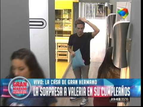 """""""Gran Hermano 2015"""": La sorpresa a Valeria en su cumpleaños"""