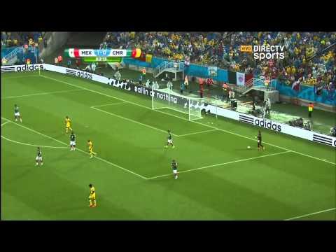 Mexico vs Camerun Segundo Tiempo Mundial 2014 DirecTV SportsHD
