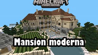 Descarga mansion moderna para minecraft pe 0.9.5 alpha