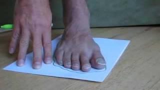 Make huaraches (Tarahumara running sandals) 1/3