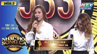 HTV NHẠC HỘI SONG CA MÙA 2   Jolie Phương Trinh - Lê Thiện Hiếu giành 2 vé vàng  NHSC #18  12/8/2018