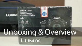 Panasonic FZ2500 Bridge 4K Camera Unboxing & Overview