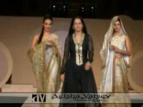 aeisha varsey indian fashion show