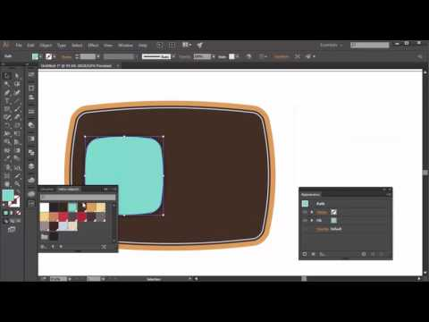 How to Create Logo Design Elements in Adobe Illustrator  Television Part 3