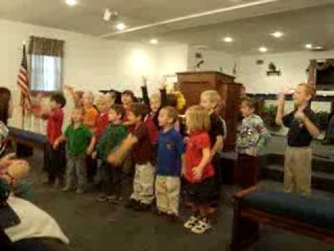 "Upson Christian Academy singing ""God's Not Dead, He is Still Alive"" - 12/23/2013"