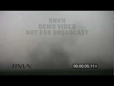 7/2/2010 Brandon, NE Gustnado stock video