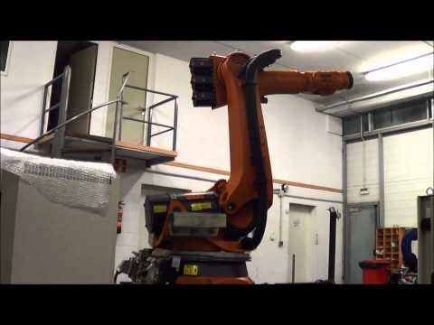 Accuracy test Kuka KR210-2 with KRC2 controller