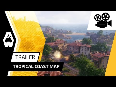 Armored Warfare - Tropical Coast Map Trailer
