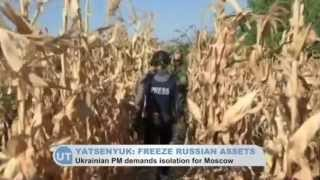 Russia Invades Ukraine  Ukrainian PM Yatsenyuk calls for emergency UN meeting