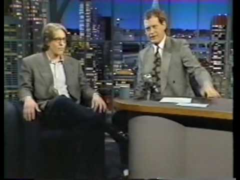David Cronenberg interview on Late Night (1992)