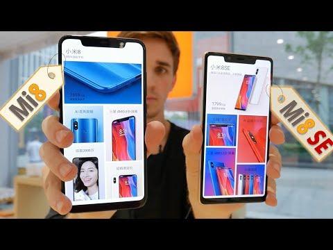 Бы�трый обзор Xiaomi Mi8 и Xiaomi Mi8 SE