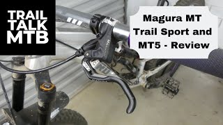 Magura MT5 and MT Trail Sport - Review