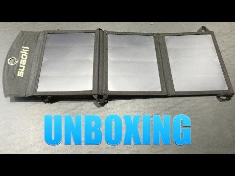 Suaoki 16W Solar Panel Unboxing