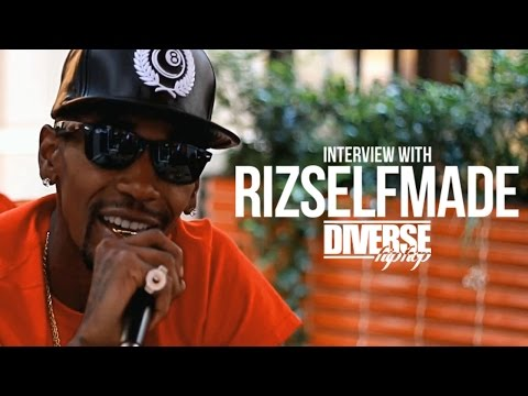 DiverseHipHop Interview With RIZSELFMADE