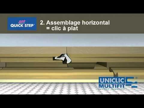 Quick step uniclic multifit parquet youtube - Pose quick step uniclic ...