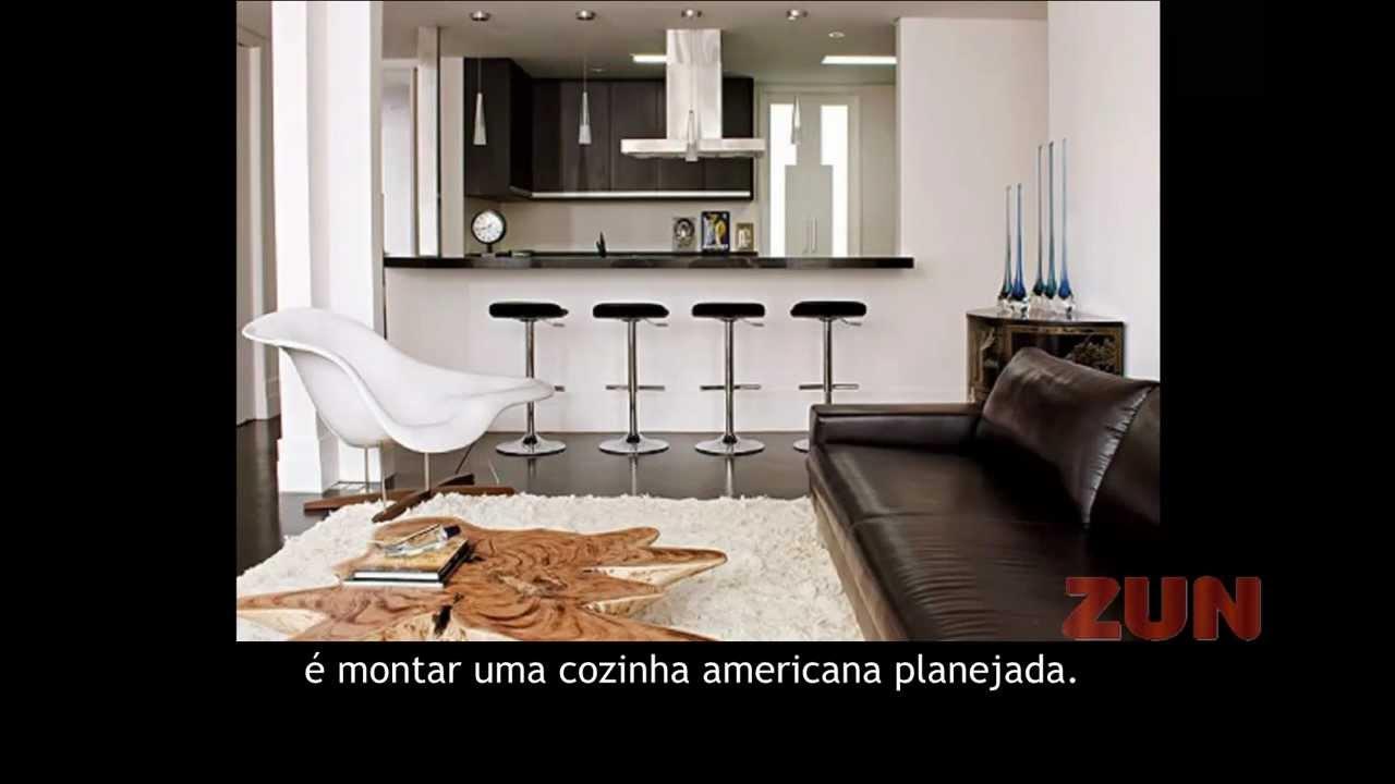 Cozinha Americana Planejada Com Sala Oppenau Info