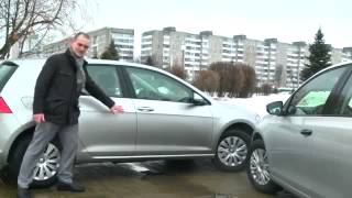VOLKSWAGEN GOLF 7 vs Volkswagen Golf 6