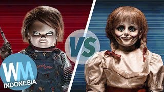 Download Lagu VERSUS: Annabelle VS Chucky | Siapa Boneka Terseram Di Film Horor !! Gratis Mp3 Pedia