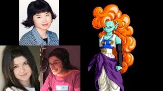 Anime Voice Comparison- Zangya (Dragon Ball Z)