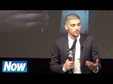 Zayn Malik Thanks One Direction As He Accepts Asian Award video