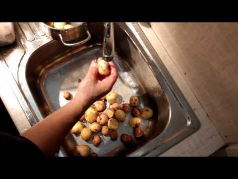 Как сварить картошку в мундире - видео