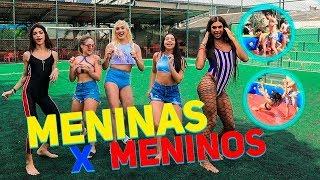 FUTEBOL DE SABÃO: MENINAS X MENINOS | #HottelMazzafera