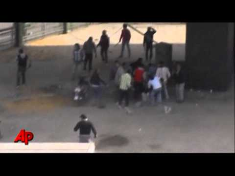 Raw Video: Protests in Egypt Turn Violent