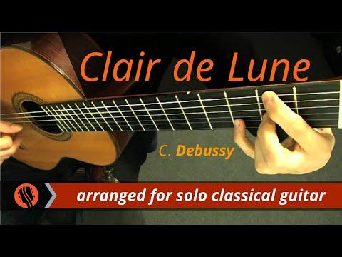 Дебюсси Клод - Clair de lune (Marshall)