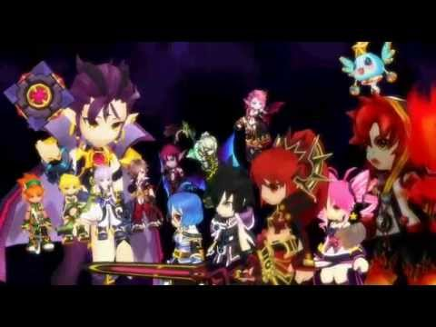 Mmd Grand Chase X Fairy Tail Op 3 Parody video