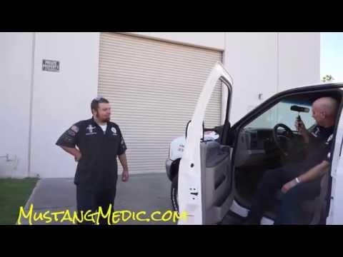 Ford F-250 Powerstroke Mustang Medic ~ Sirens & Mustangs Shelby Truck