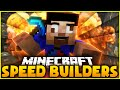HARDEST BUILD EVER! - Minecraft SPEED BUILDERS #6