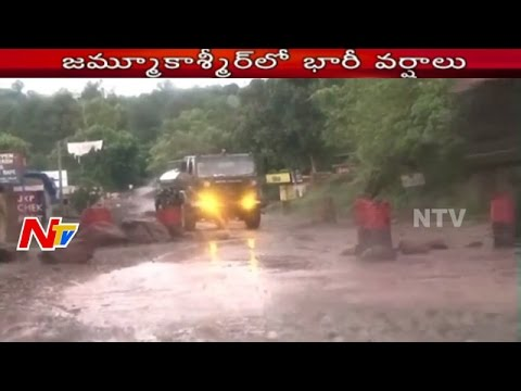 Heavy Rain Lashes Jammu And Kashmir | NTV