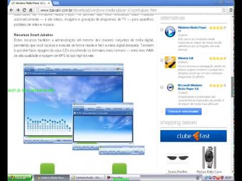como baixar e instalar Windows Media Player