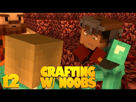 Minecraft 1.8 | Crafting With Noobs 12 |
